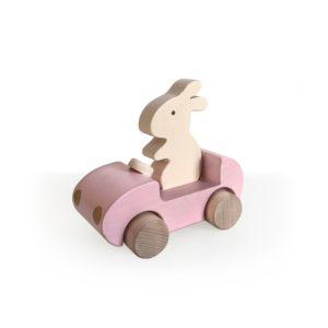 bunny-car-rose
