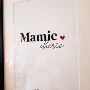 affiche-mamie-chérie-prénom-personnalisation2