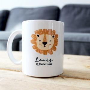 mug-lion-personnalisation