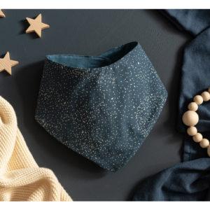 bandana-lucky-gold-bubble-night-blue