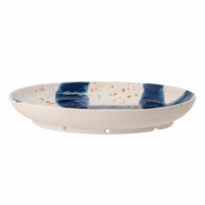 Assiette-murale-bleu-ozcar