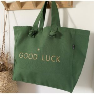 cabas-vert-sapin-good-luck-marcel-et-lily